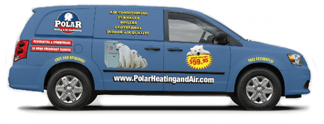 Polar Heating and Air Van