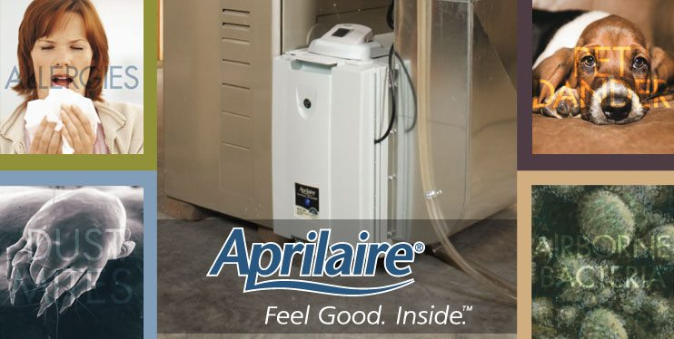 Aprilaire whole home air cleaners in Chicago