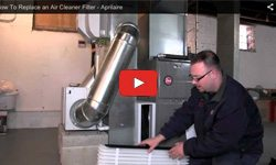 How to change and air cleaner filter. Indoor air quality experts in Chicago, IL