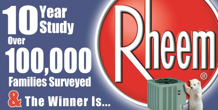 Rheem Air Conditioner installation in Chicago and Suburbs