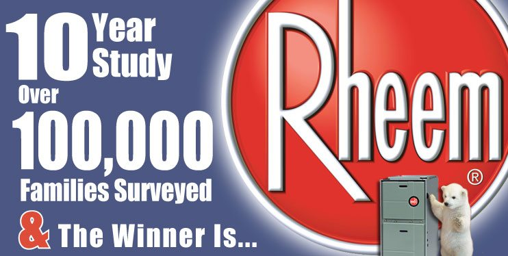 Rheem furnace satisfaction study. Chicago installation, repair, sales.