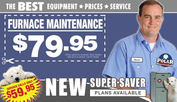Chicago furnace maintenance, cleaning, and inspection coupons