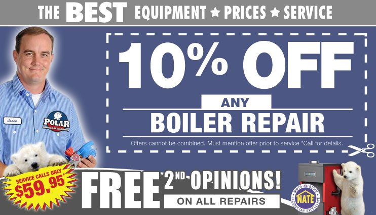 Chicago Boiler Repair coupons. Boiler repair service for NW Indiana, Kankakee, Joliet, Gurnee, Naperville and all of Chicagoland.