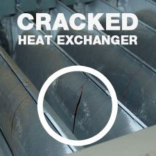 Chicago, IL furnace repair for cracked heat exchanger