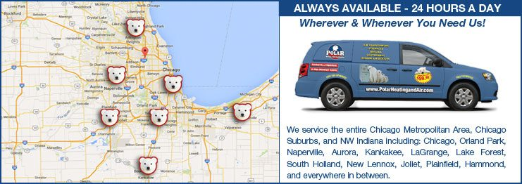 Heating and cooling companies in chicago, kankakee, joliet, aurora, NW Indiana. HVAC contractor locations in Indiana & Illinois