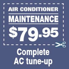 Joliet IL air conditioner maintenance coupon
