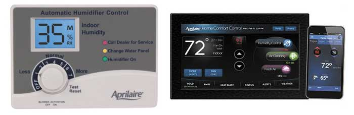 chicago humidifier control wifi thermostat installation