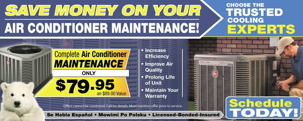 air conditioner maintenance in Chicago, IL