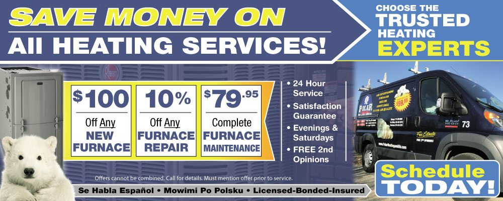 heating services for all brands of furnaces