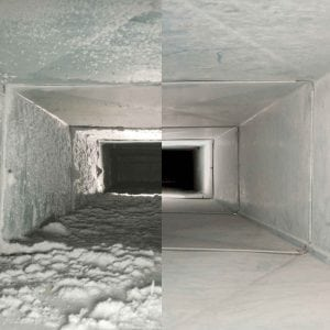 Chicago home air duct cleaning service