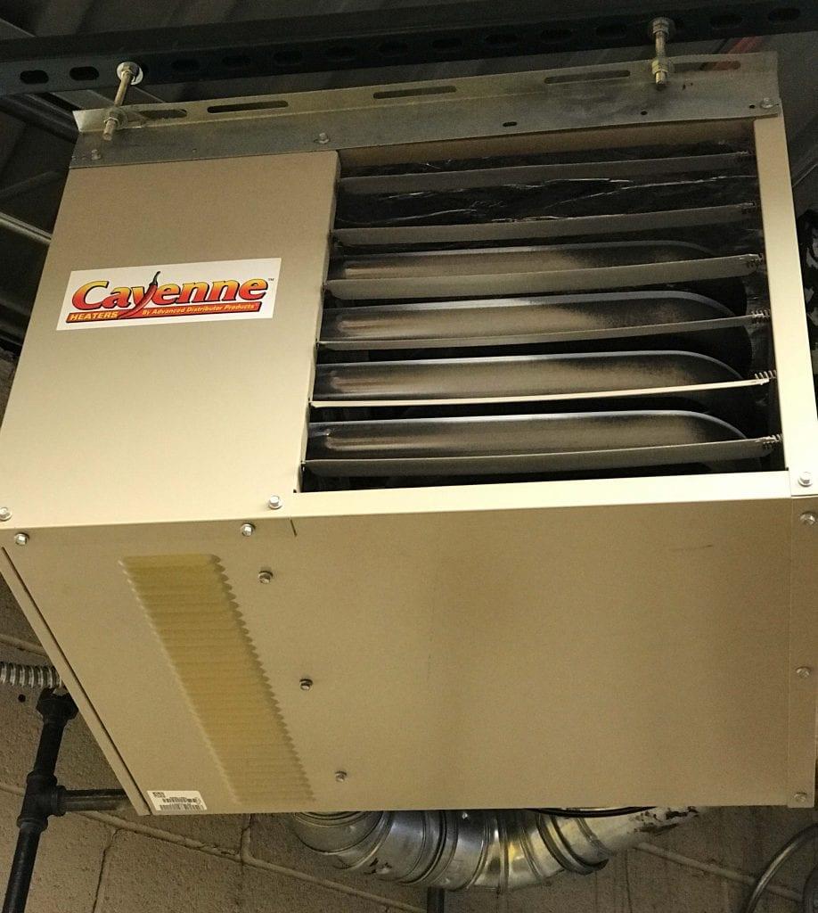 Garage Heater Installation Polar Heating Amp Air Conditioning