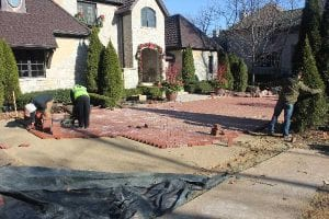 Snow Melt Systems Chicago, IL paver installation