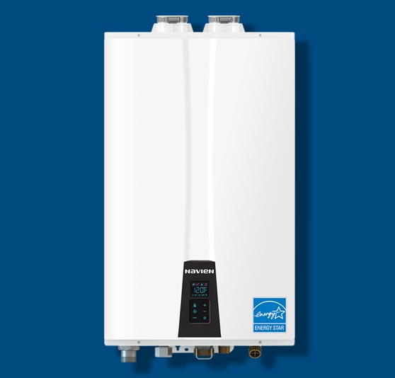 Navien NPE-A tankless Water Heater installation Chicago