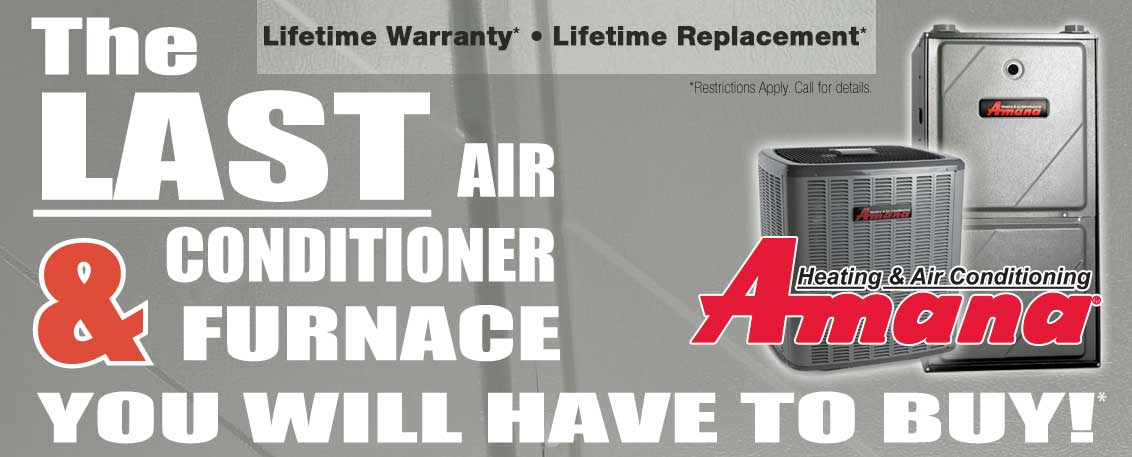 Chicago Amana furnace and Amana air conditioner sales and installation.